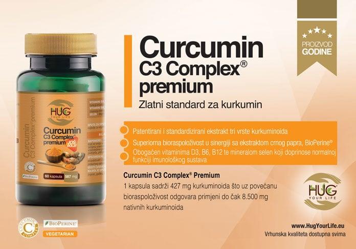 Oglas Curcumin C3