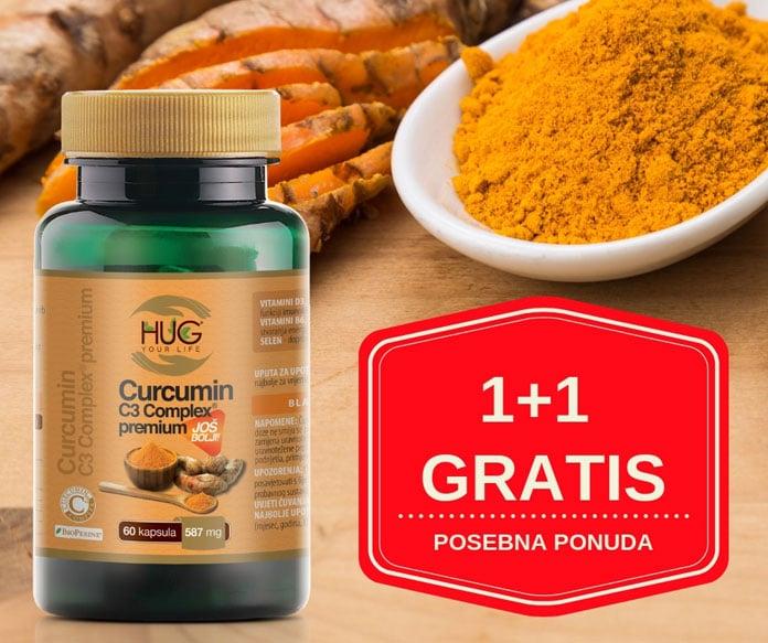AKCIJA 1+1 GRATIS - Curcumin C3 Complex Premium - Posebna ponuda za čitatelje portala ATMA