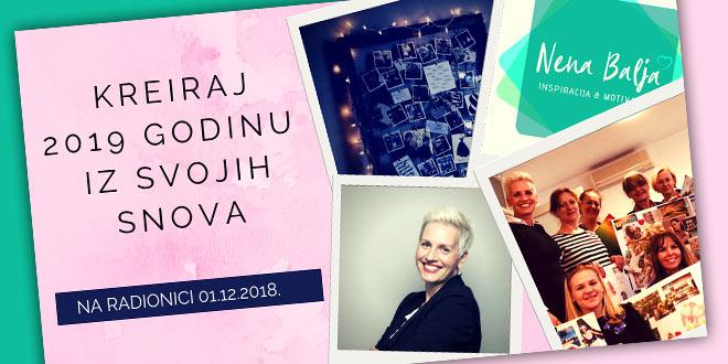 01.12. Zagreb - Kreiraj 2019. godinu iz svojih snova