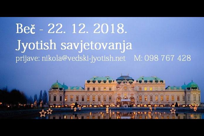 22.12. Beč - Jyotish savjetovanja