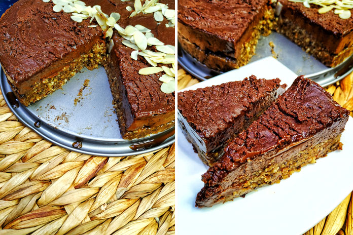 Sirova čokoladna torta s lješnjacima