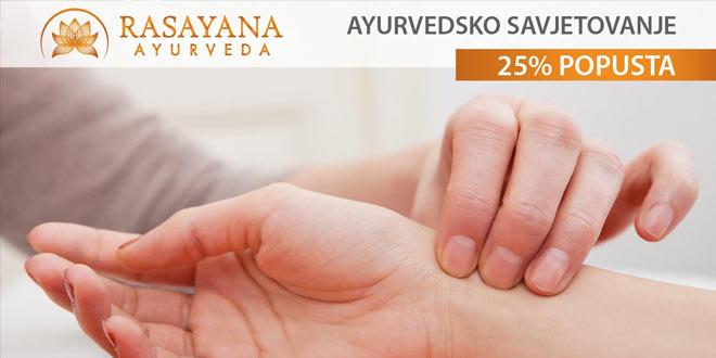 Velika novogodišnja akcija - do 70% na Rasayana Ayurveda usluge i proizvode!