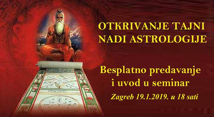 19.01. Zagreb - Brighu Nandi Nadi: Čudesna astrologija vedskih mudraca (predavanje i tečaj)
