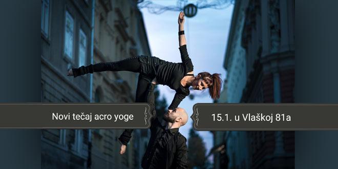Tromjesečni tečaj acro yoge za početnike!