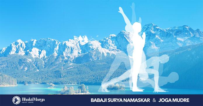 Tečajevi pozdrava Suncu – Babaji Surya Namaskar – i joga mudri