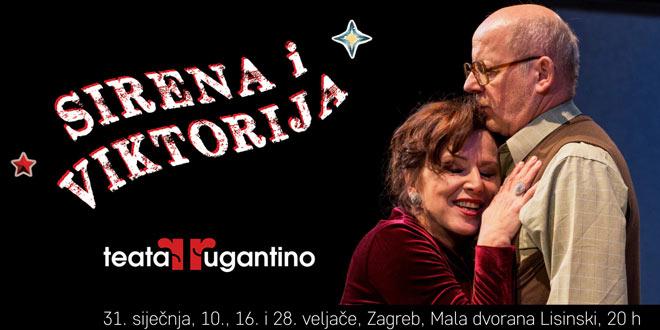 """""""Sirena i Viktorija"""" raskošna komedija zabune Teatra Rugantino osvojila publiku na prvim izvedbama"""