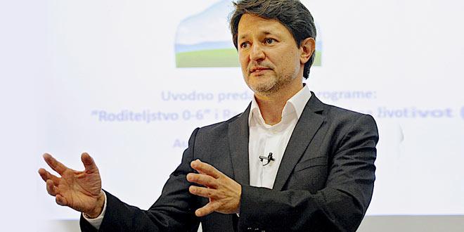 Predavanje T. Kuljiša: Utjecaj ranog razvoja na život, veljača (Zagreb, Split, Rijeka, Šibenik)