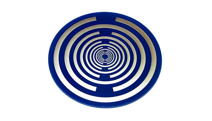 Lakhovsky dvostrana pozlaćena disk antena za iscjeljenje - Zaštita od zračenja i jačanje vitalne energije