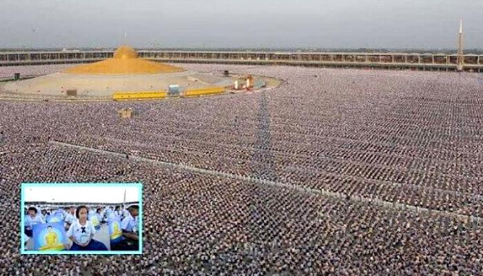 1 milijun djece se okupilo i meditiralo za svjetski mir u Tajlandu!
