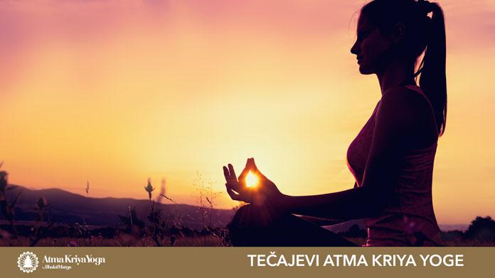 Atma Kriya Yoga -jedinstvo s božanskim - TEČAJEVI U ZAGREBU, RIJECI I SPLITU
