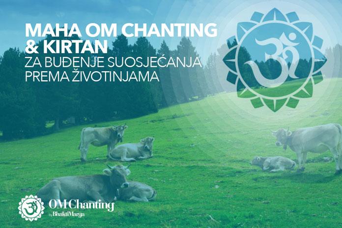 Maha Om chanting i kirtan za buđenje suosjećanja prema životinjama