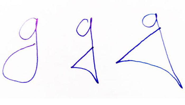 Grafologinja tvrdi: Način na koji osoba piše malo slovo