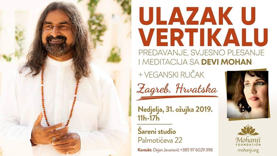 Ulazak u vertikalu sa Devi Mohan u ZAGREBU