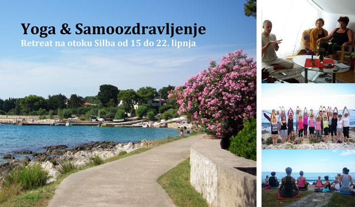 15.-22.06. Otok Silba - Yoga & Samoozdravljenje - 7 dana retreat na otoku Silba