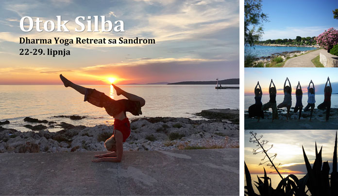 Dharma Yoga retreat na predivnom otoku Silba, 22.-29. lipnja 2019.
