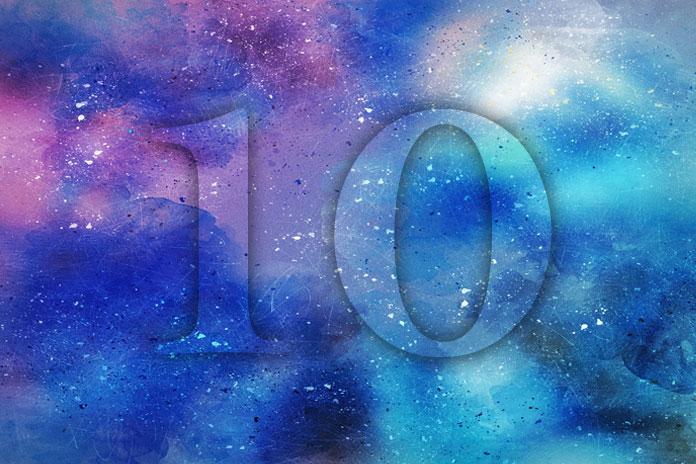 Tantrička Numerologija: Broj 10 - Zračeće Tijelo