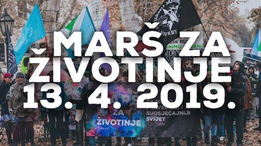 13.04. Zagreb - Marš za životinje