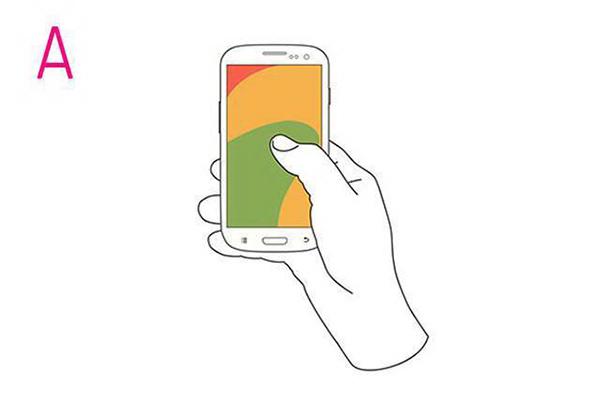 TEST: Način na koji držite telefon odražava vaš karakter!