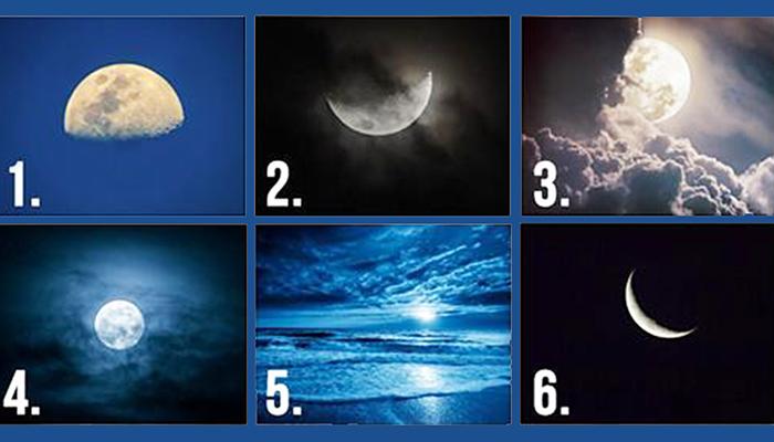 TEST: Odaberite Mjesec i to će vam otkriti vaše skrivene misli!