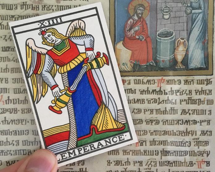 Tarot akrana XIIII – Isprazni svoju šalicu