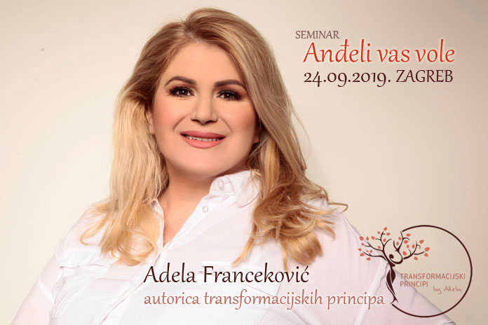 24.09. Zagreb - Seminar: Anđeli vas vole