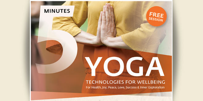 Sadhguru 5 minutes yoga – FREE SESSION
