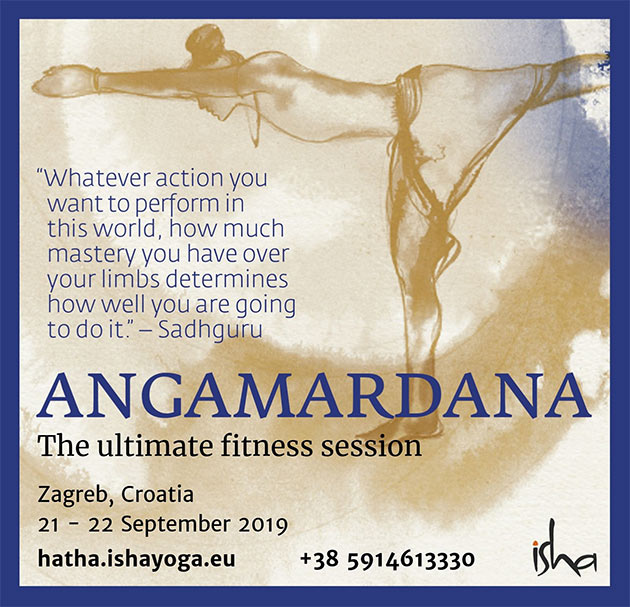 ANGAMARDANA - The ultimate fitness session
