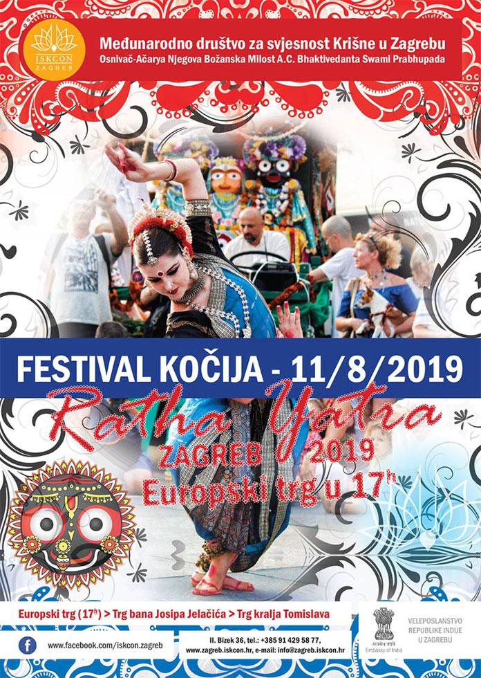 Radost uZagrebu u bojama i zvucima plesa i pjesme Festivala Kočija