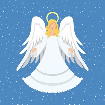 flat design christmas angel 23 2148720737 1