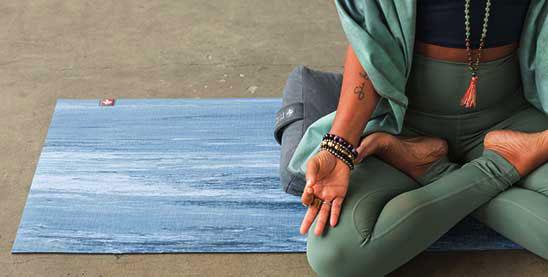 banner joga podloga