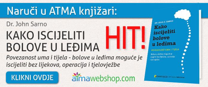 banner za knjige KAKO ISCIJELITI BOLOVE U LEDIMA