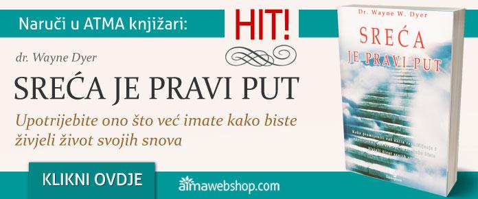 banner za knjige SRECA JE PRAVI PUT