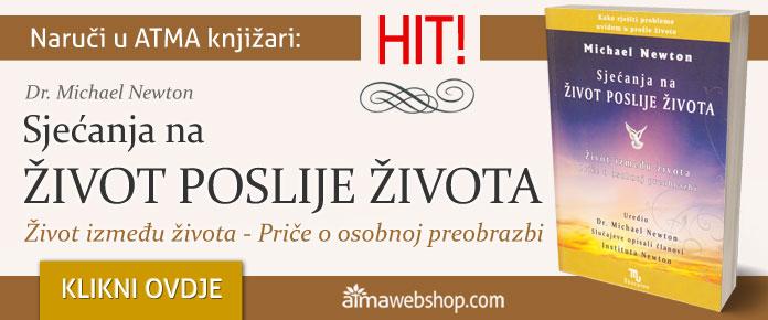 banner za knjige Sjecanja na zivot poslije zivota