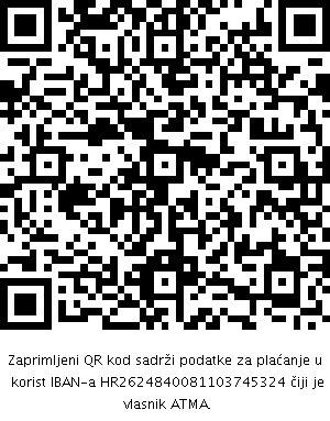 ATMA donacija QR 1