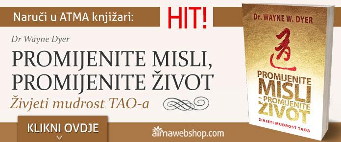 banner za knjige WAYNE DYER PROMIJENITE MISLI PROMIJENITE ZIVOT