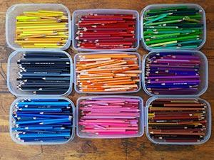 olovke drvene