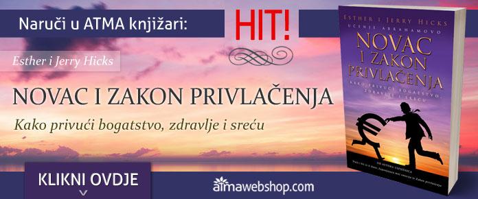 banner za knjige NOVAC I ZAKON PRIVLACENJA