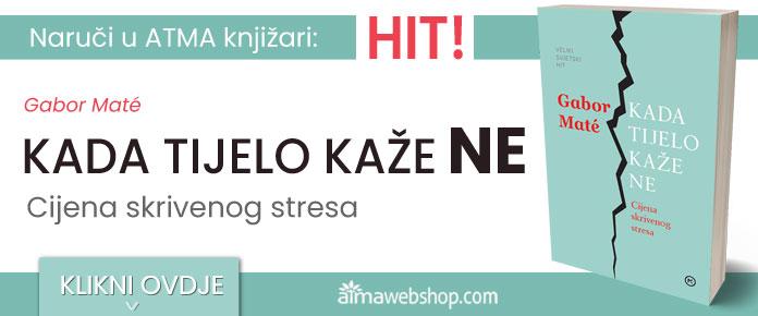 banner za knjige KADA TIJELO KAZE NE